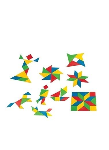 Dede Puzzle Renkli